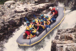 Whitewater Rafting on the California Salmon
